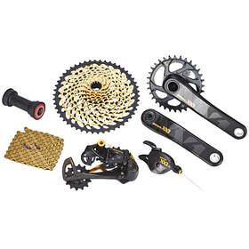 SRAM XX1 Eagle - Piezas para bicicletas - 1x12s Boost GXP Pressfit negro/Dorado